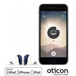 oticon opn iphone