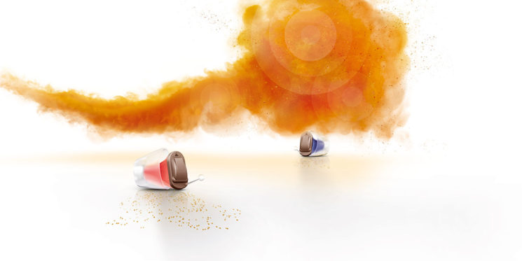 Trial the instant fit Silk Primax invisible hearing aids