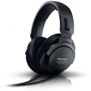 philips wired tv headphones